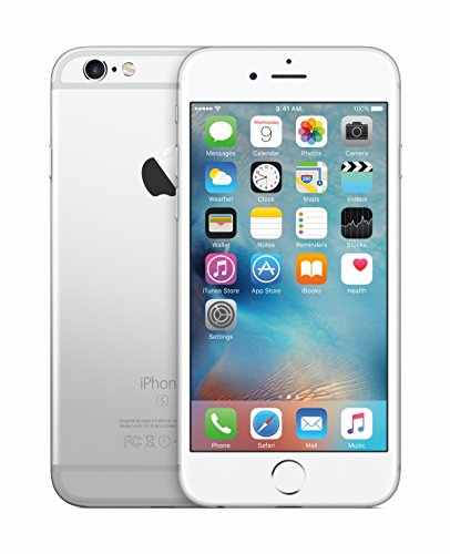 Apple iPhone 6s (Apple MKQU2HN/A) 128GB Silver Mobile