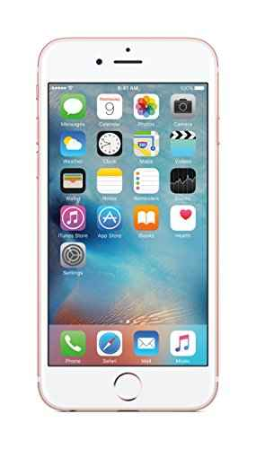 Apple iPhone 6s 128GB Rose Gold Mobile, MKQW2HN/A