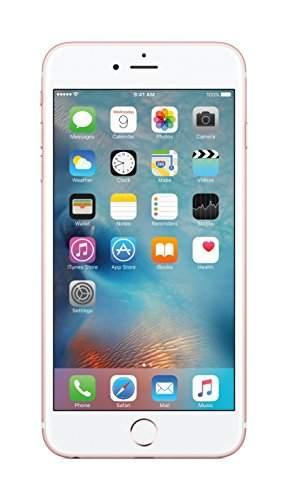 Apple iPhone 6s Plus 64GB Rose Gold Mobile, MKU92HN/A