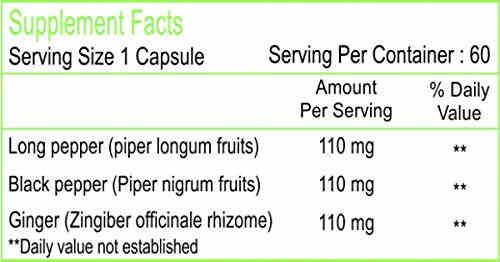 Healthvit Trikatu Pure Herbs (60 Capsules)