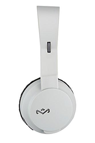 House of Marley EM-JH101-GY Rebel BT Bluetooth Headphones, Grey