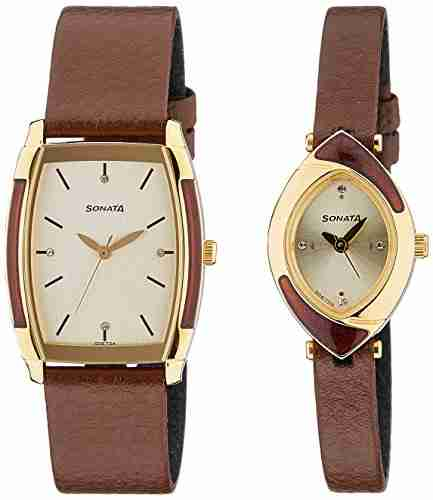 Sonata 70808069YL01C Analog Watch