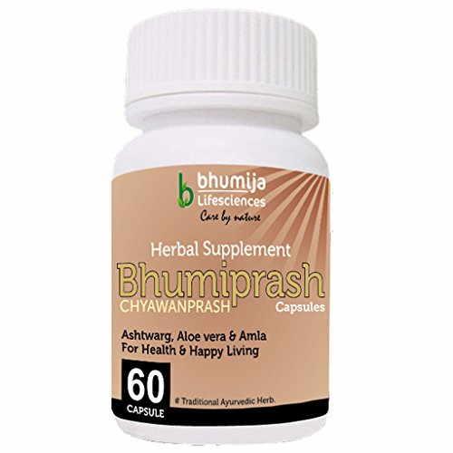 Bhumija Lifesciences Bhumiprash Chyawanprash Supplements (60 Capsules)