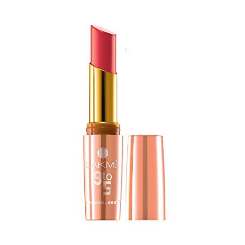 Lakme 9 to 5 Crease Less Pink Affair Lipstick, CP15