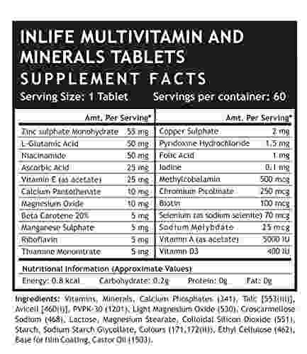 Inlife Multi Vitamin And Minerals (60 Capsules) - Pack Of 3