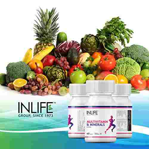 Inlife Multi Vitamin and Minerals (60 Tablets, Pack of 3)