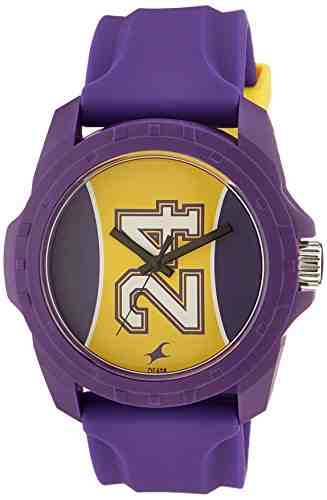 Fastrack 38018PP04CJ Tees Analog Purple Dial Unisex Watch (38018PP04CJ)