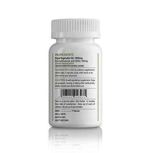Unived OVEGHA Vegan Omega-3 DHA 400mg (30 Capsules)