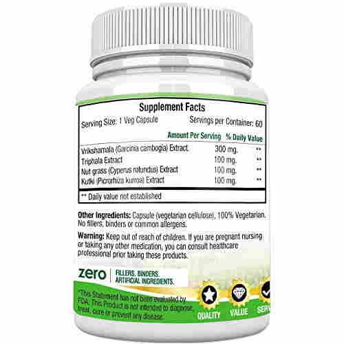 Morpheme Remedies Trim Formula Garcinia Extract 600mg (60 Capsules)
