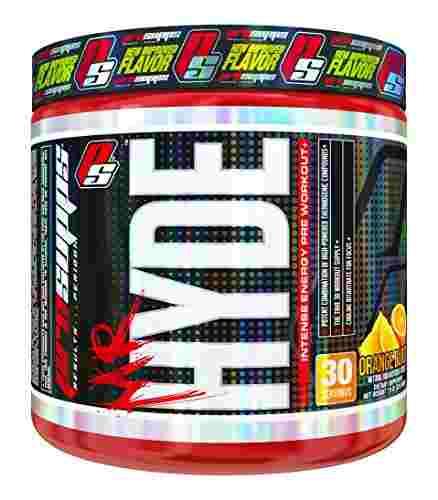 Pro Supps Mr Hyde Pre Workout (30 Servings,Orange Burst Flavor)