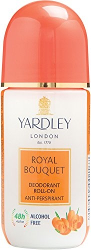 Yardley London Anti Perspirant Royal Bouquet Deodorant Roll On For Unisex, 50 ML