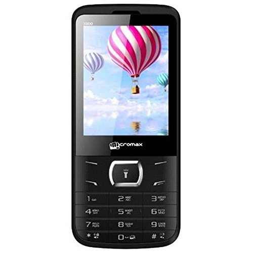 Micromax X800 Black Mobile