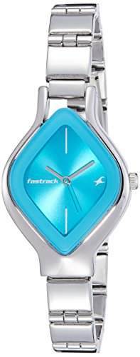 Fastrack 6109SM03C Animal Blue Dial Instinct Analog Women's Watch