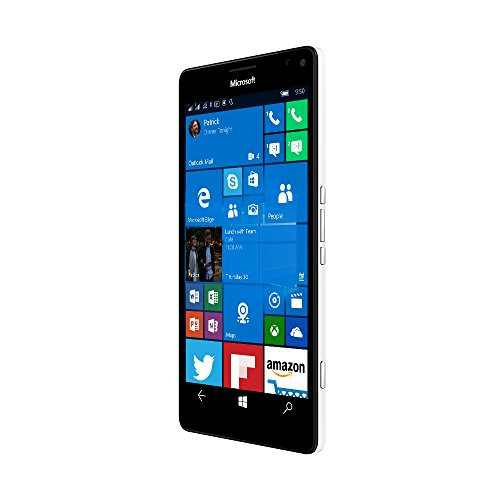 Microsoft Lumia 950 XL White Mobile
