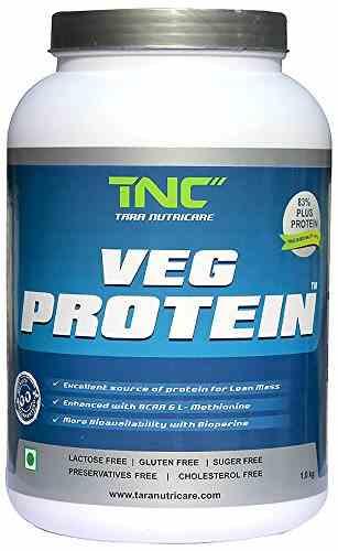 Tara Nutricare Veg Protein (1Kg, Vanilla)