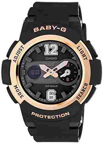 Casio Baby-G BGA-210-1BDR (BX045) Analog Digital Black Dial Women's Watch (BGA-210-1BDR (BX045))
