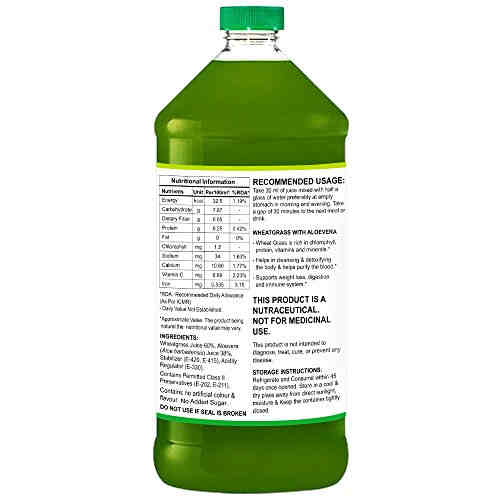StBotanica Wheatgrass With Aloevera (500 ml)