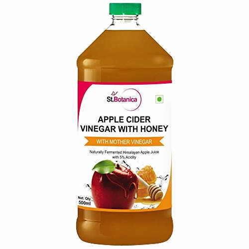 StBotanica Apple Cider Vinegar With Honey (500 ml, 2 Bottles)