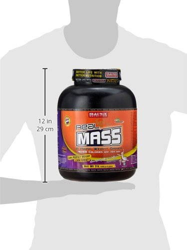 Matrix Nutrition Real Mass (3Kg, Chocolate)