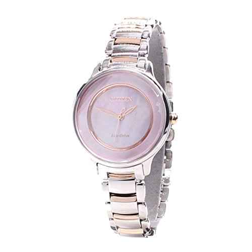 Citizen EM0384-56D Analog Mother of Pearl Dial Women's Watch