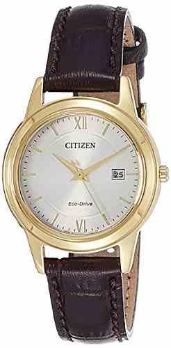 Citizen Eco-Drive FE1082-13A Analog White Dial Women's Watch