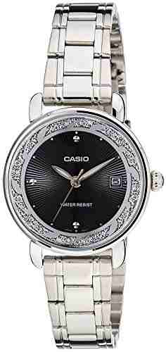 Casio Enticer LTP-E120D-1ADF (A1040) Analog Black Dial Women's Watch