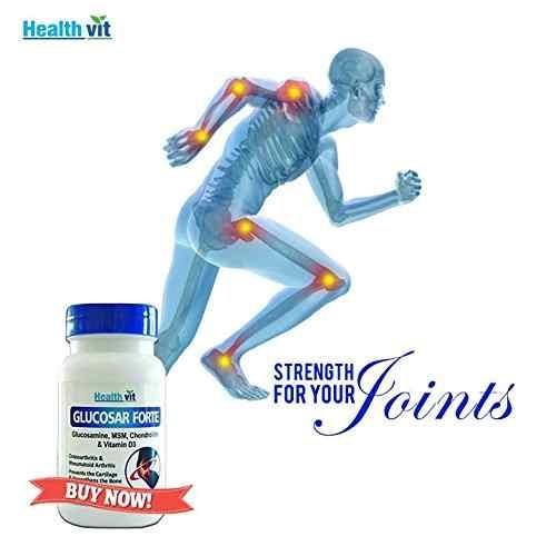 Healthvit Glucosar Forte Glucosamine Chondrotin & Msm (60 Capsules)