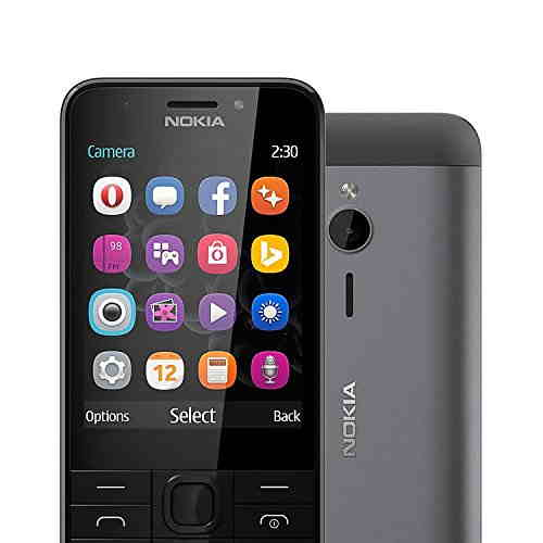 Nokia 230 White Mobile