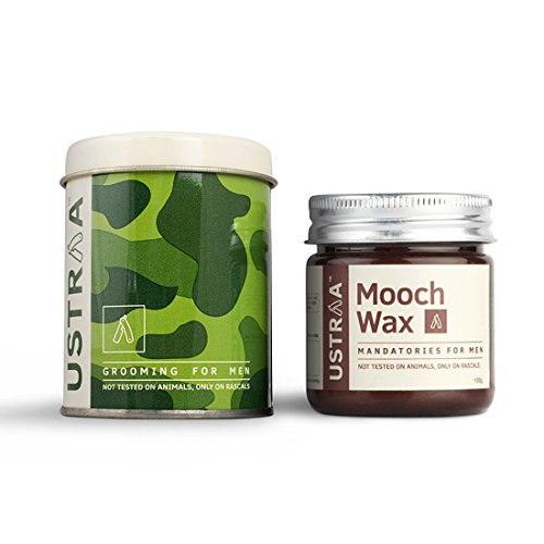 Ustraa Beard & Mooch Wax For Beard Styling, 100 GM