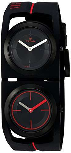 Titan 1653NP02 Edge Analog Watch
