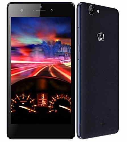 Micromax Canvas Nitro 3 E352 (Micromax E352) 16GB Grey Mobile