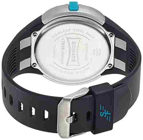 Sonata 77041PP01J Digital Watch