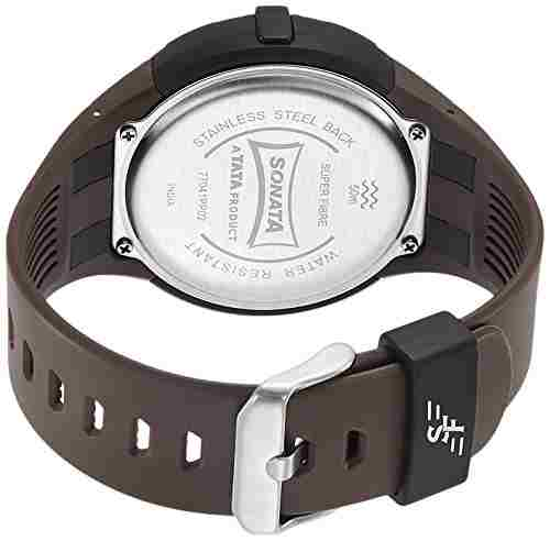 Sonata 77041PP02J Digital Watch