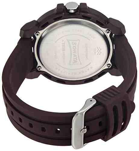 Sonata 77037PP05J Digital Watch