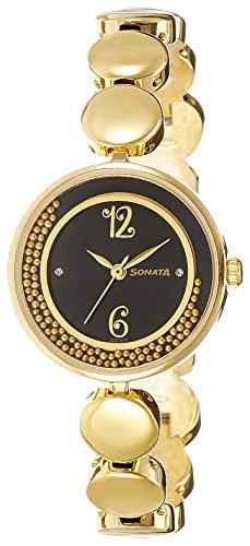 Sonata 8136YM03C Analog Watch