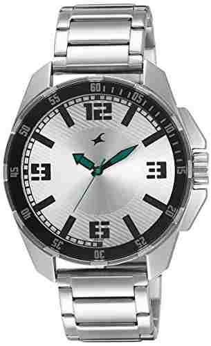 Fastrack NG3084SM01C Analog Silver Dial Men's Watch