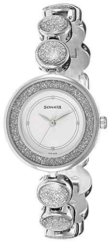 Sonata 8136SM03C Analog Watch (8136SM03C)