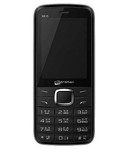 Micromax X610 Black Mobile