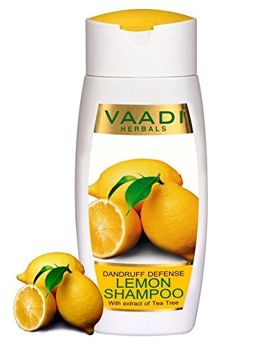Vaadi Herbals Dandruff Defense With Extract of Tea Tree Lemon Shampoo (110ml)