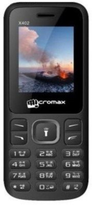 Micromax X402 Black Mobile