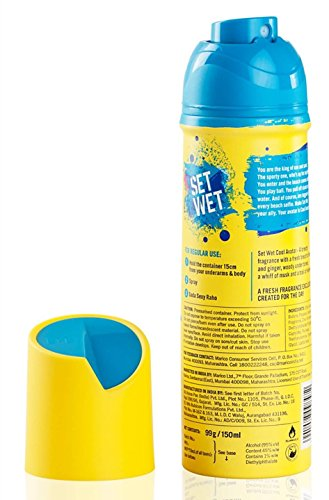 Set Wet Cool Avatar Deodorant Spray For Men 150 ml