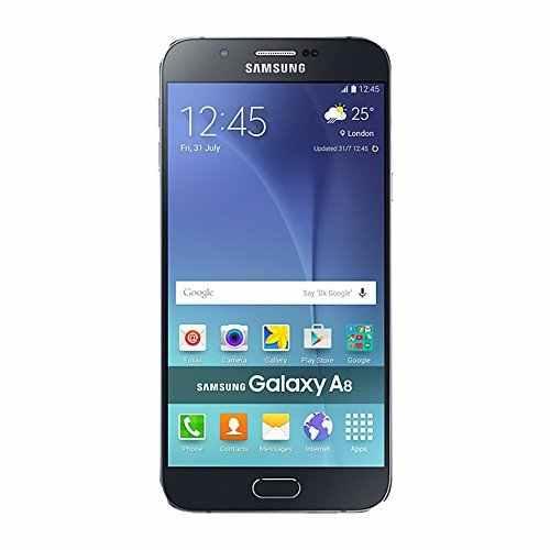 Samsung Galaxy A8 (Samsung SM-A8QQIZDEINS) 32GB Black Mobile