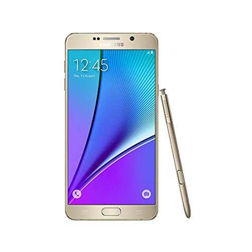 Samsung Galaxy Note 5 SM-N9208ZDUINS 32GB Gold Platinum Mobile