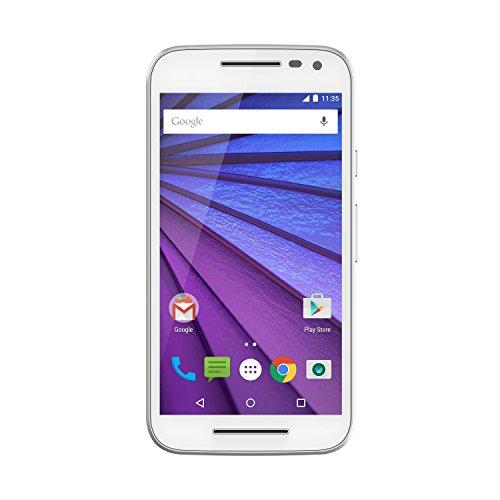 Moto G 3rd Generation (8GB, 1GB RAM) White Mobile