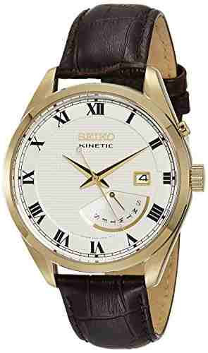 Seiko SRN074P1 Kinetic Analog Watch