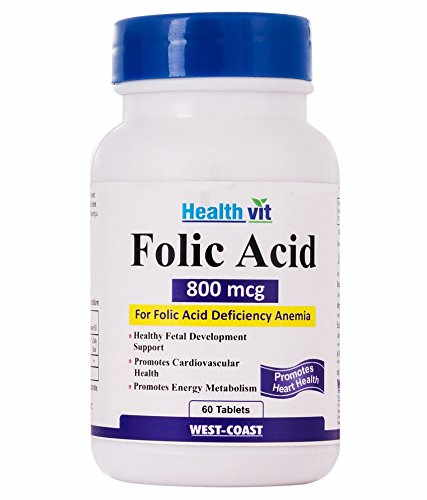 Healthvit Folic Acid 800 mcg (60 Tablets)