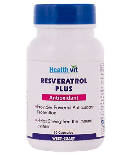 Healthvit Resveratrol Plus Supplements (60 Capsules)