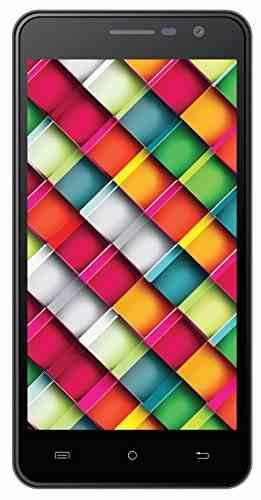 Intex Cloud Crystal 2.5D 16GB Black Mobile