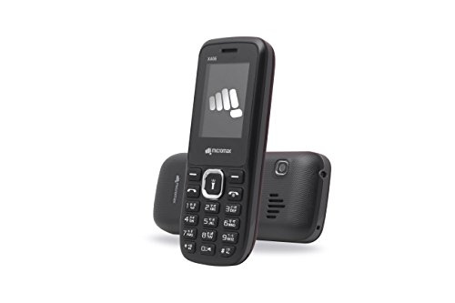 Micromax X406 Black Mobile