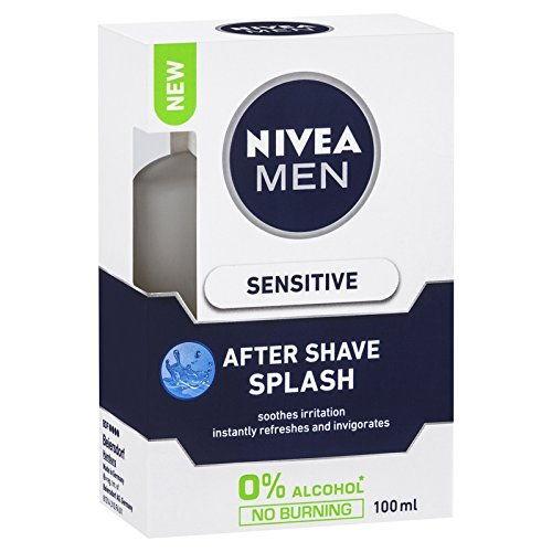 Nivea Men Sensitive Cooling After Shave Splash, 100 ML